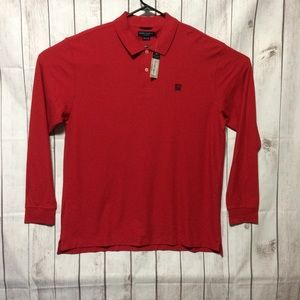 Daniel Cremieux Classics Polo Shirt XL Long Red